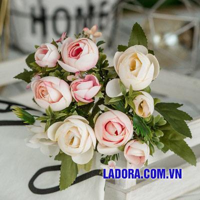 hoa lụa đẹp tại shop bán đồ trang trí nhà ở hà nội ladora