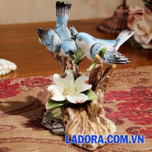 quà tặng cưới ý nghĩa với đôi chim tại ladora shop ở hà nội