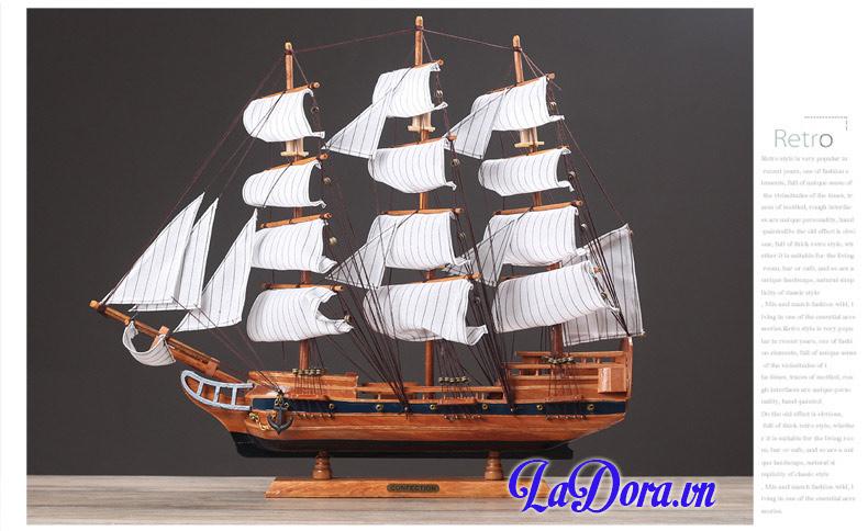 thuyền buồm phong thủy trang trí nội thất tại ladora shop ở hà nội