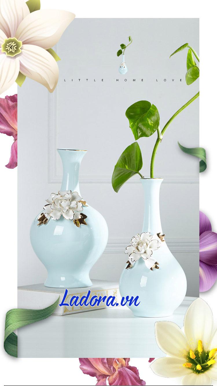 Bình hoa đẹp trang trí tại ladora shop