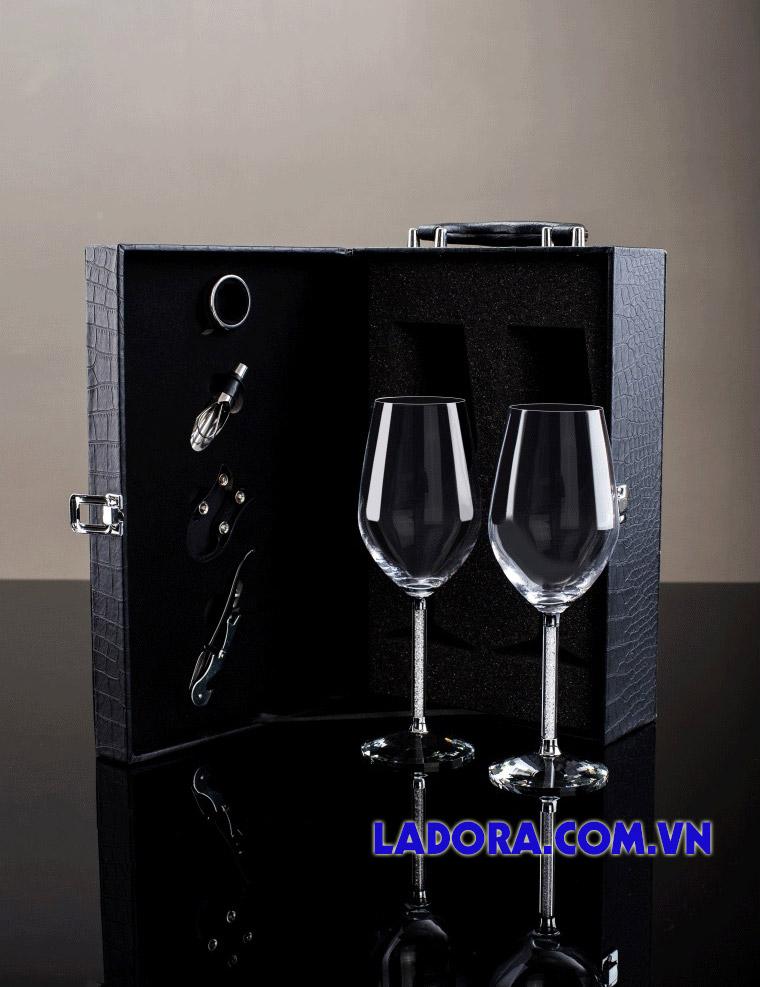 bộ ly rượu vang cao cấp làm quà tặng nhân dịp khai trương