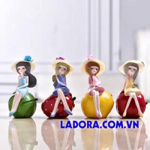 tượng 4 cô gái trang trí nhà ở ladora shop ở hà nội
