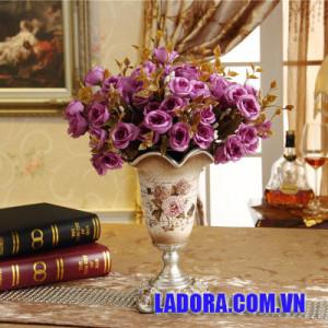 lọ hoa trang trí phòng ngủ tại ladora shop decor trang trí