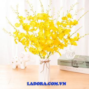 hoa lụa đẹp tại ladora shop bán đồ decor trang trí ở hà nội