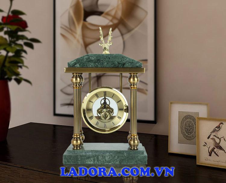 đồng hồ để bàn tại ladora shop