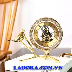 đồng hồ để bàn trang trí đẹp tại ladora shop decor ở hà nội