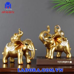 hình tượng con voi trong phong thủy trang trí