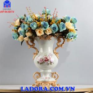 bình hoa để bàn phong cách tân cổ điển tại Ladora